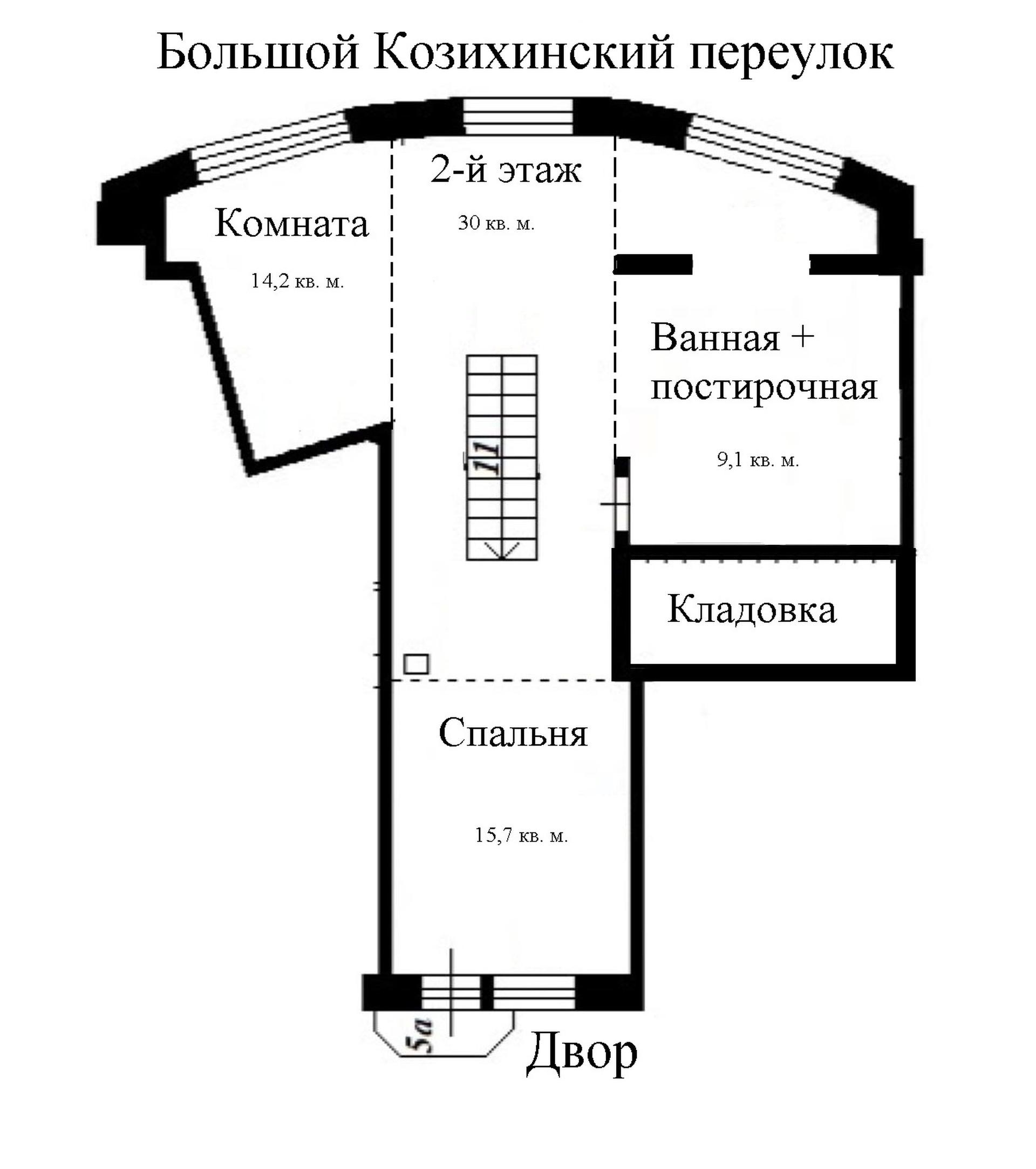 Двухэтажная квартира 1