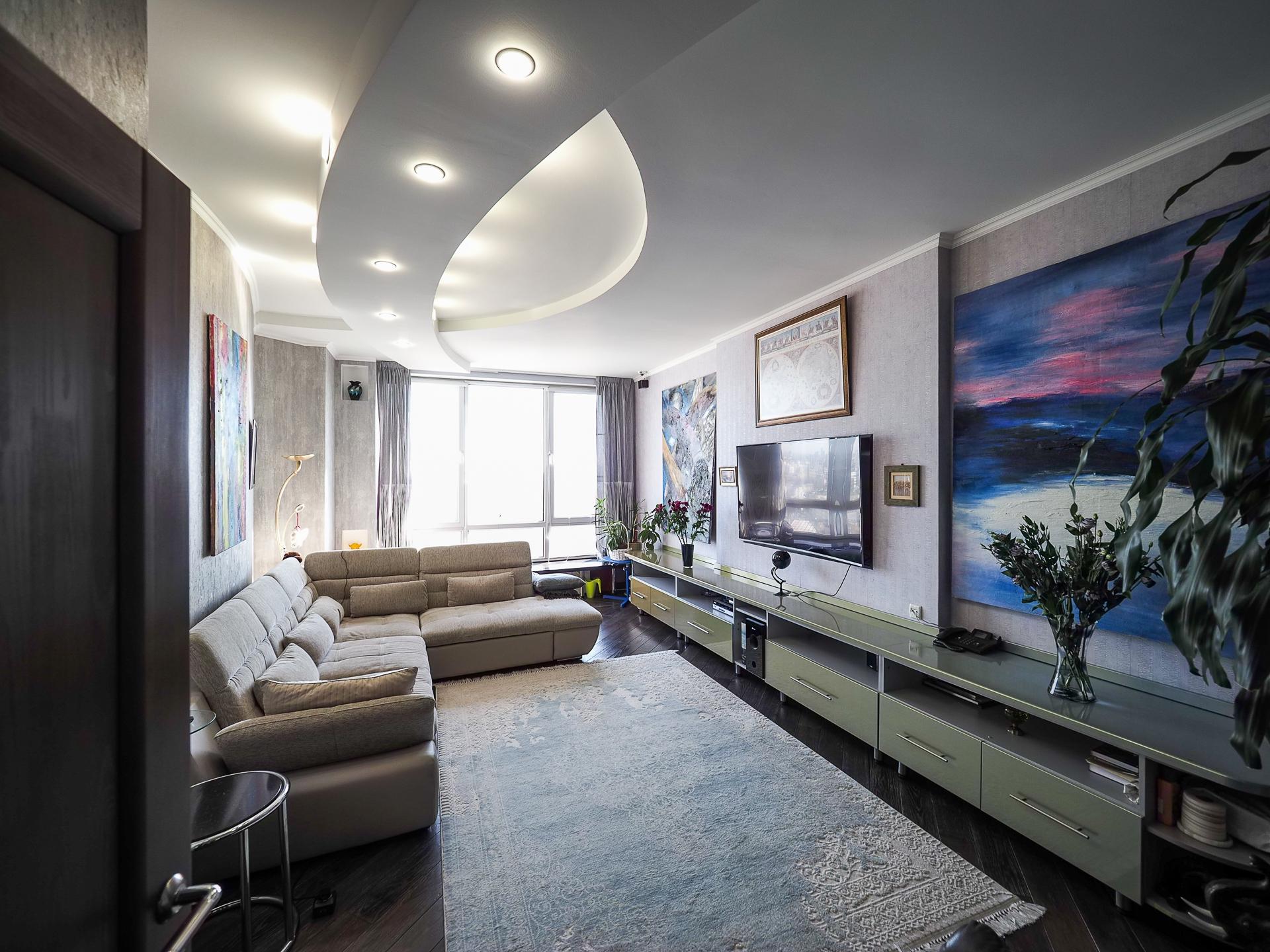 видовая квартира 22 этаж 100 Кв м 1