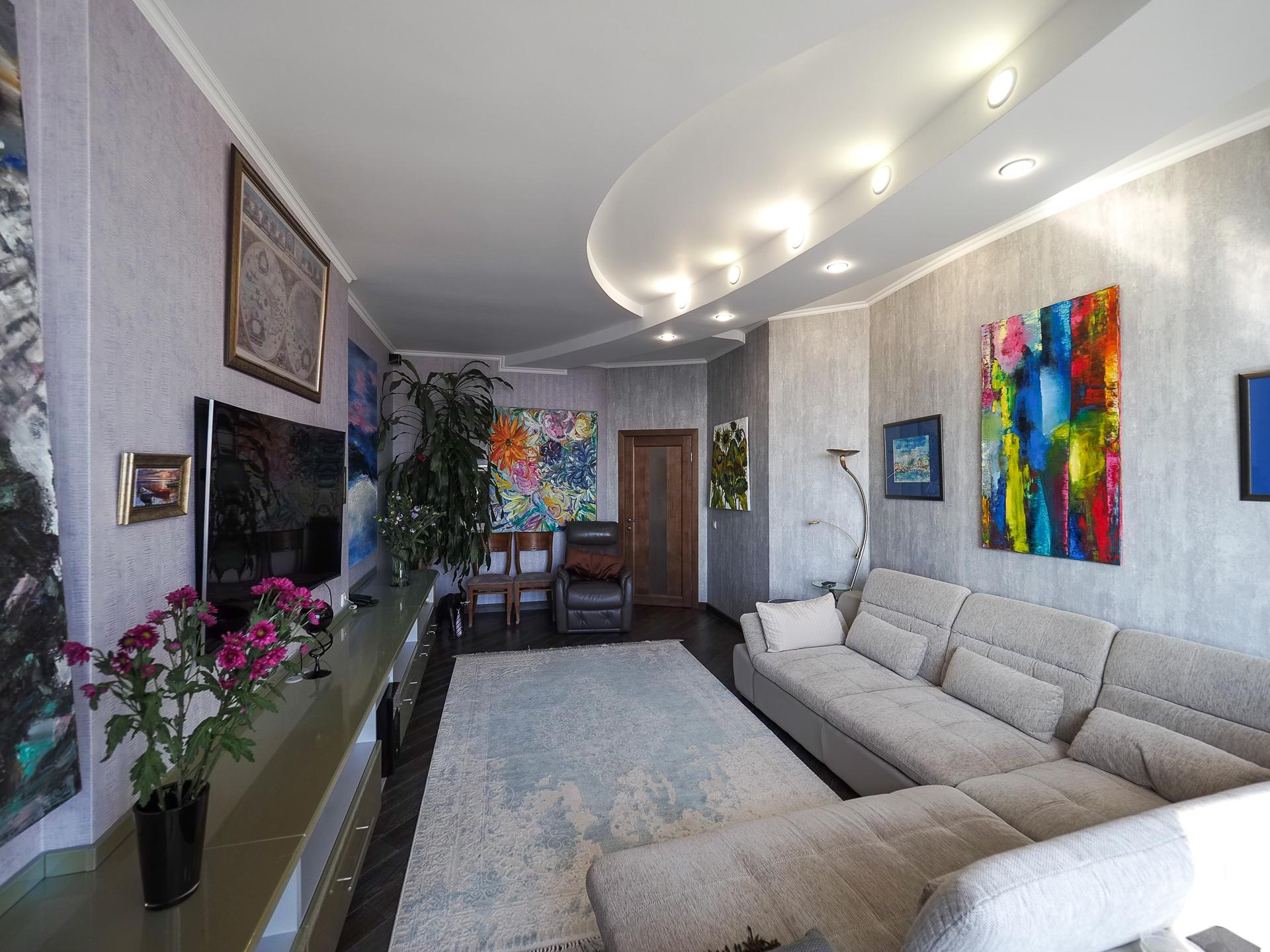 видовая квартира 22 этаж 100 Кв м 2