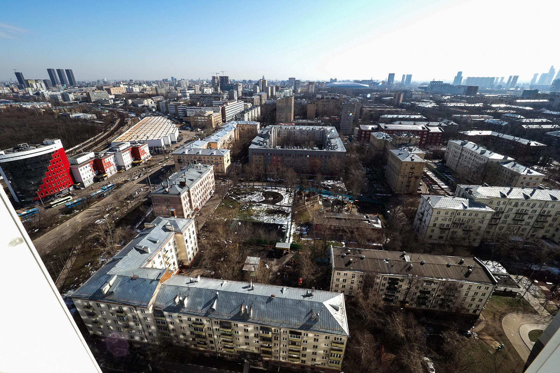 видовая квартира 22 этаж 100 Кв м 6