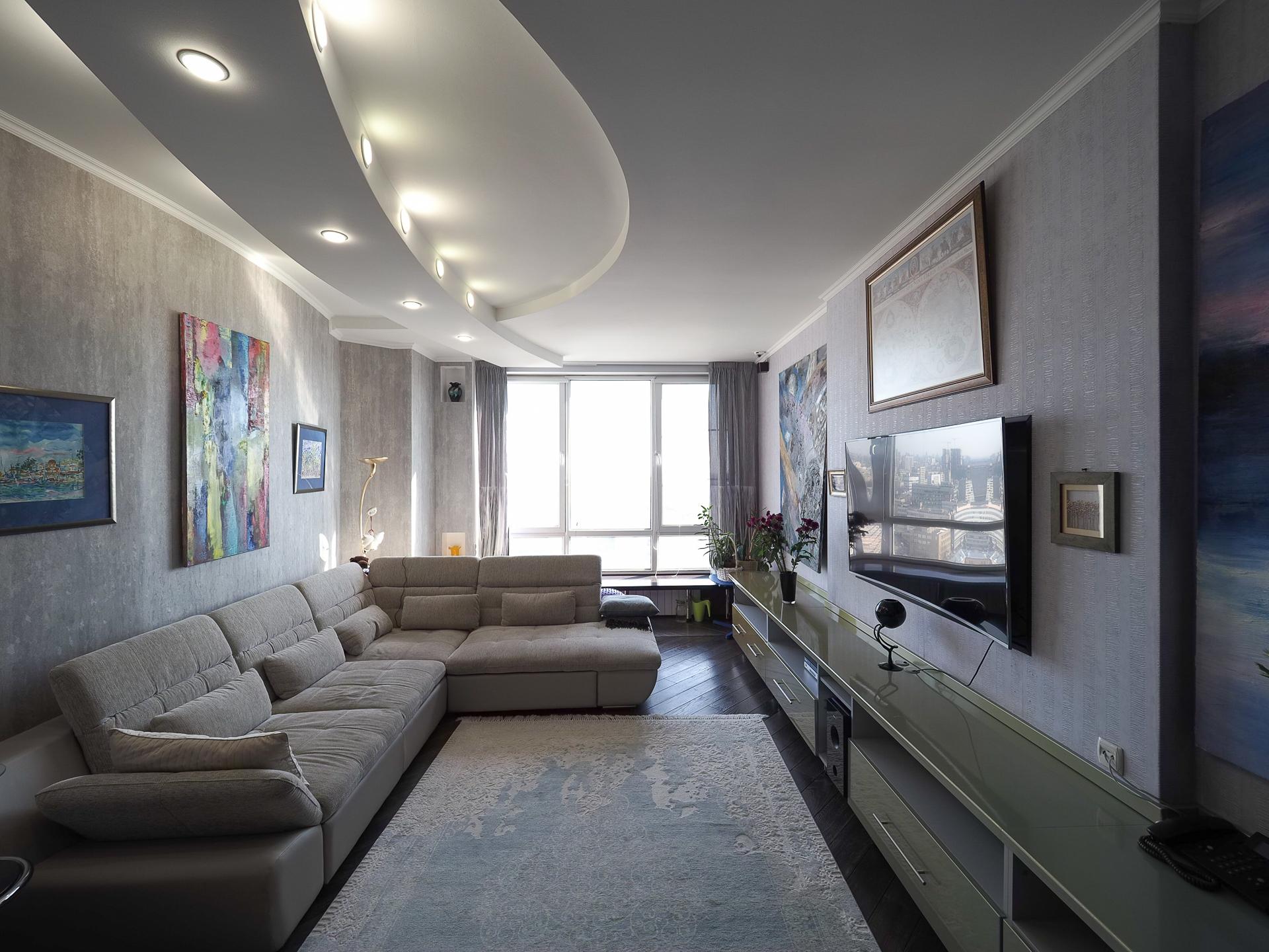 видовая квартира 22 этаж 100 Кв м 3