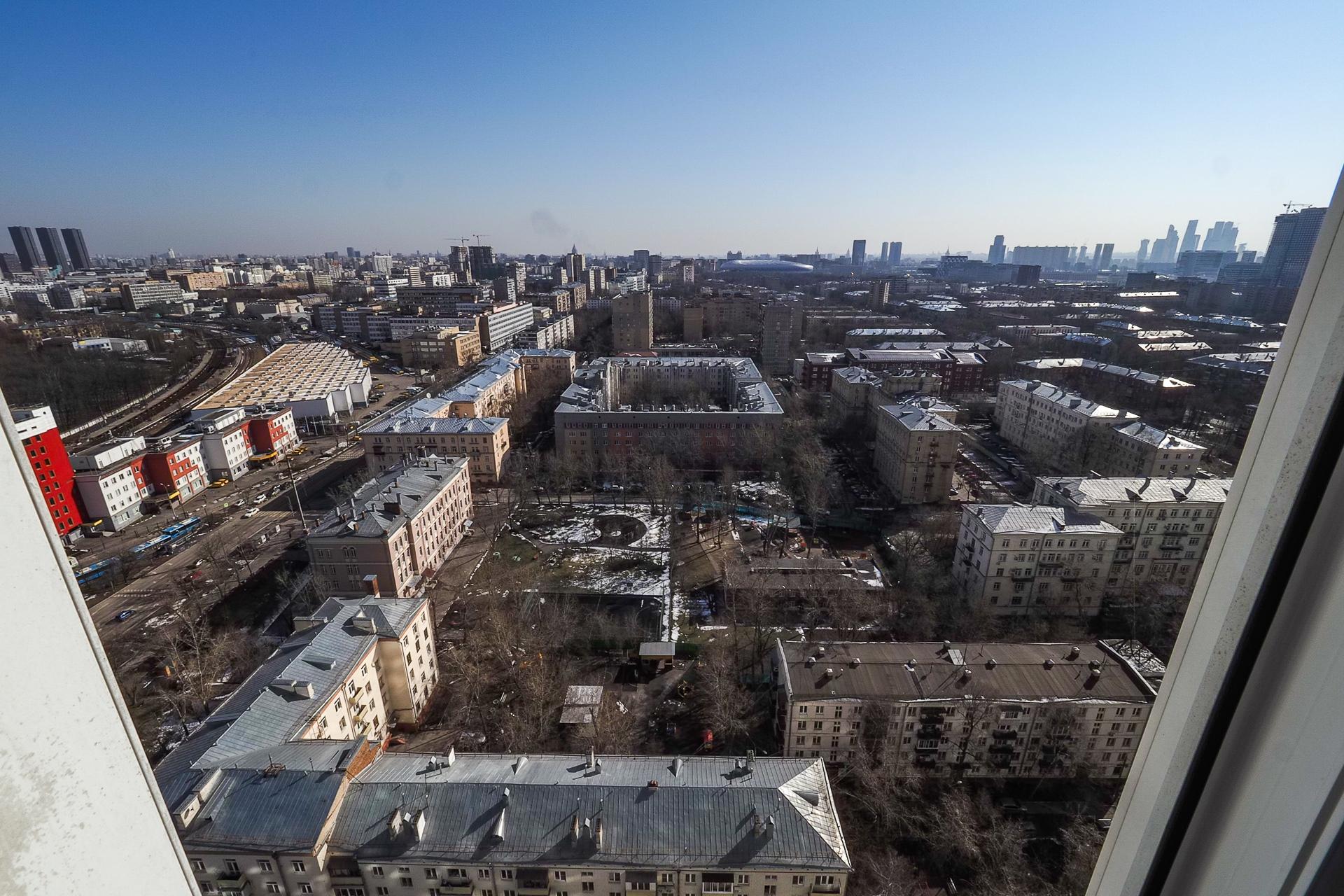 видовая квартира 22 этаж 100 Кв м 30