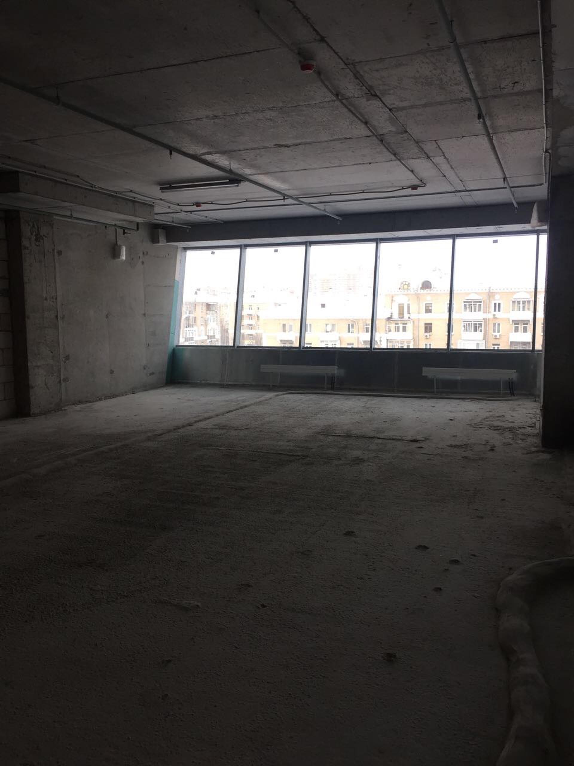 Панорамные окна, БЦ класса