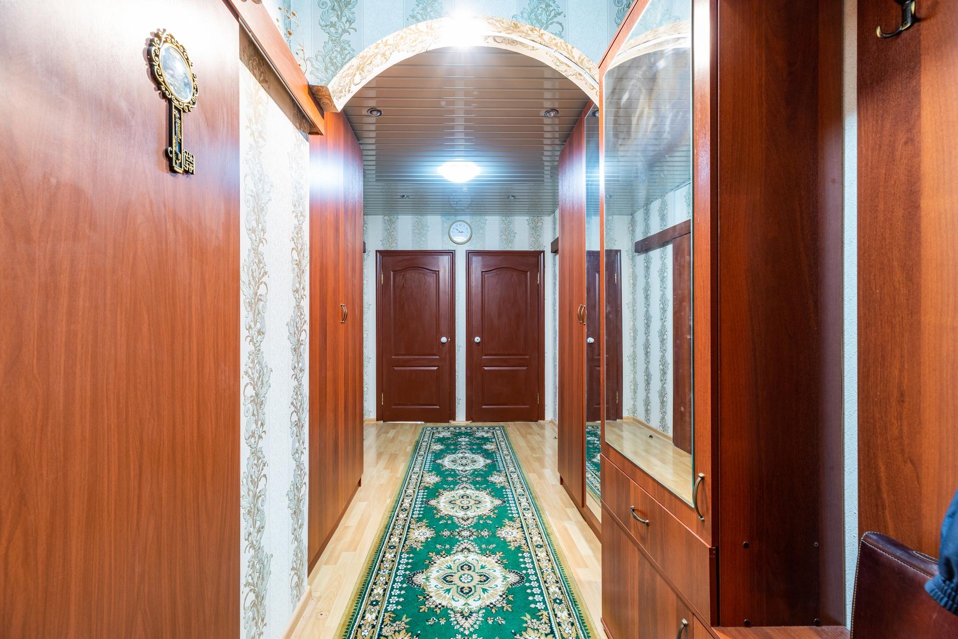 Большая пятикомнатная квартира с двумя входами!!! 25