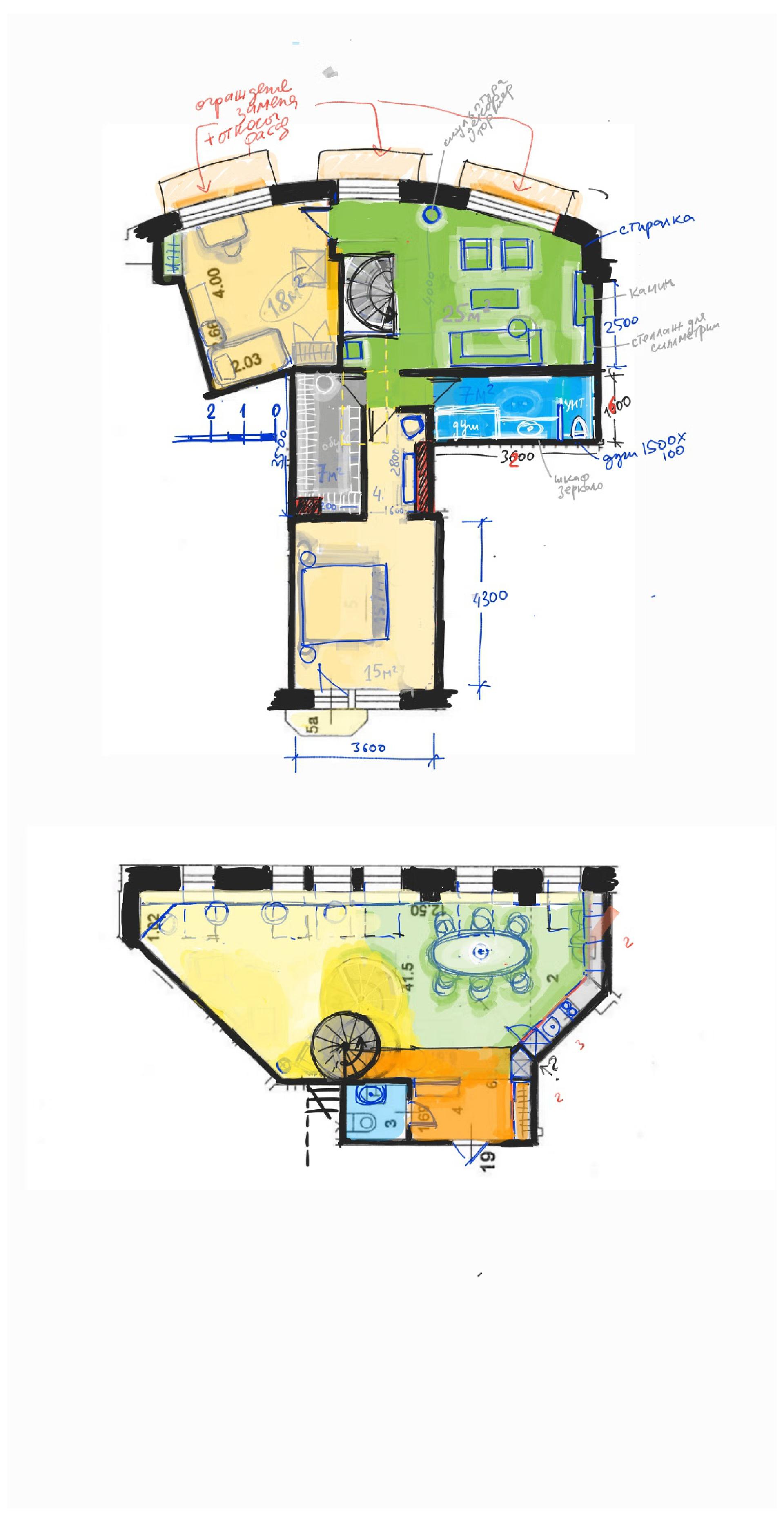 Двухэтажная квартира 4