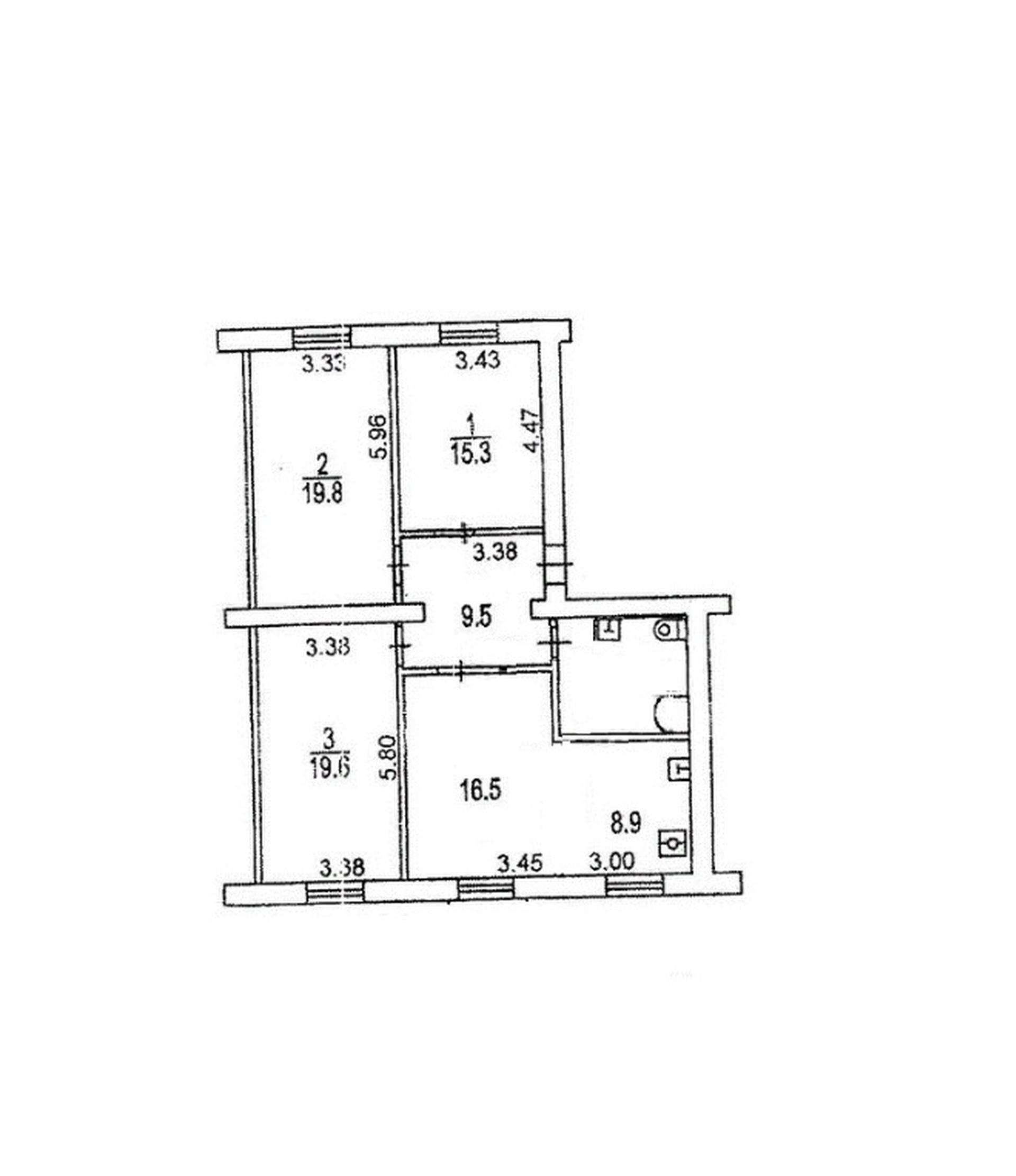 Три изолированные комнаты! 2